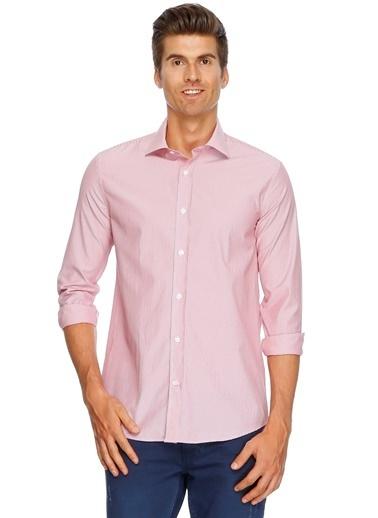 Cotton Bar Gömlek Kırmızı
